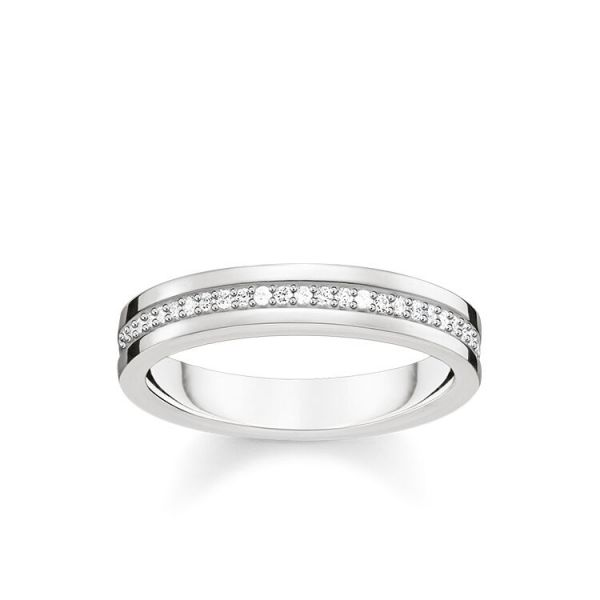 Thomas Sabo TR2117-051-14 Ring Love-Band Sterling-Silber