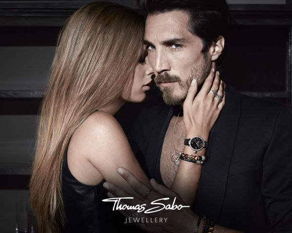 Thomas Sabo WA0093-238-205 Damen-Uhr It Girl Chronograph Quarz mit Keramik-Armband