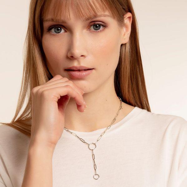 Thomas Sabo X0276-001-21 Charm-Kette Damen Sterling-Silber 50 cm