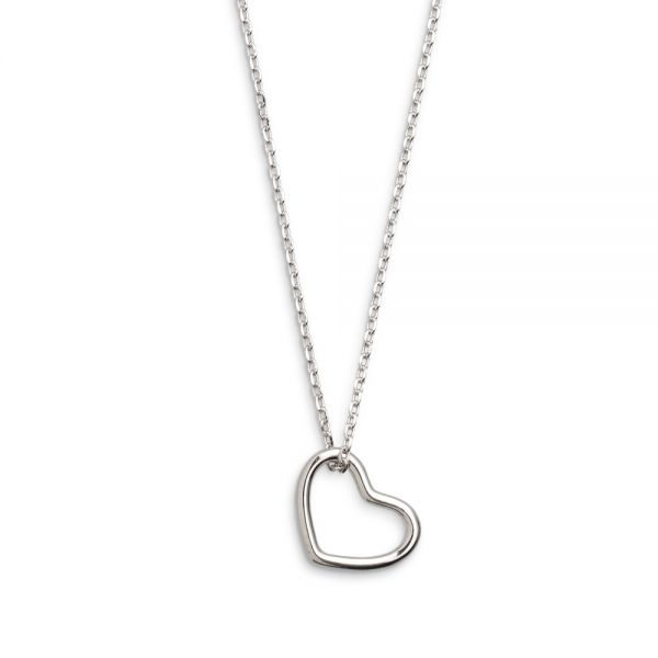 Xenox XS1756 Halskette mit Anhänger Damen Herz Sterling-Silber